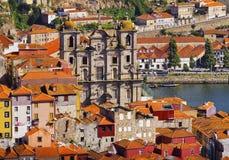 Vue de tour de Clerigos à Porto Image libre de droits