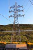 Vue de tour de transport d'énergie Photo libre de droits