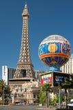 Vue de Tour Eiffel à Las Vegas Image libre de droits