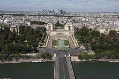 Vue de Tour Eiffel Photo libre de droits