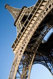 vue de Tour Eiffel d'angle au loin Photographie stock libre de droits