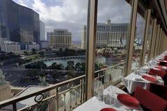 Vue de Tour Eiffel, Las Vegas image libre de droits