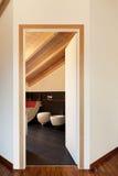 Vue de trappe de salle de bains ouverte photos stock