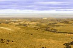 Vue de trou dans le Patagonia Images libres de droits