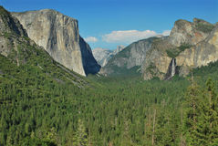 Vue de tunnel de Yosemite Photo libre de droits