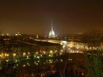 Vue de Turin Images libres de droits