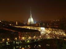 Vue de Turin Photos libres de droits