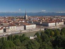 Vue de Turin Photographie stock