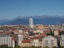 Vue de Turin Image libre de droits