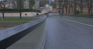 Vue de Turku Finlande banque de vidéos