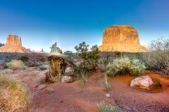 Vue de vallée de monument Photo libre de droits