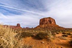 Vue de vallée de monument Image libre de droits