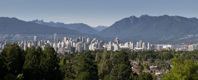 Vue de Vancouver Image libre de droits