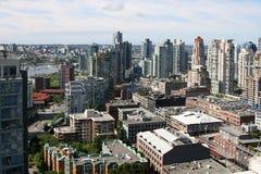 Vue de Vancouver du centre Photos stock