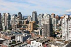 Vue de Vancouver du centre Photos libres de droits