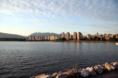 Vue de Vancouver du centre Photo stock