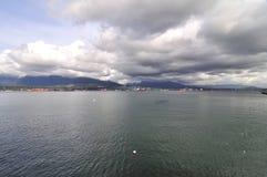 Vue de Vancouver du nord Image libre de droits