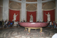 Vue de vaticano de Musei à Roma Image stock