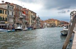 Vue de Venise et du canal, Italie Photographie stock libre de droits