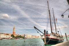 Vue de Venise le jour ensoleillé Images stock