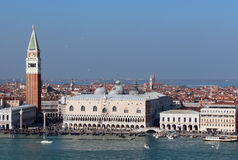 Vue de Venise pendant le matin Photos stock