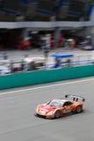 Vue de verticale d'équipe le Mans de Lexus Photo libre de droits