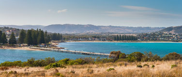 Vue de Victor Harbor Photo stock