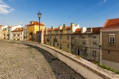 Vue de vieille Lisbonne Images stock