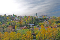Vue de vieux Vladimir. Image stock