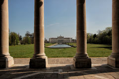 Vue de villa Pisani, Stra, Italie Image stock