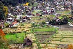 Vue de village Photographie stock libre de droits