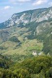 Vue de village d'éminence image libre de droits