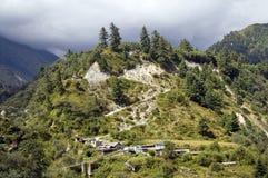 Vue de village de nepali Images stock