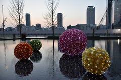 Vue de ville à Osaka égalisant, Japon Image libre de droits