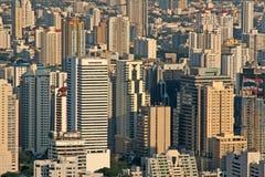 Vue de ville Photo stock