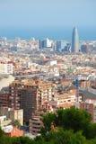 Vue de ville Photographie stock libre de droits