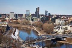 Vue de ville Photos stock