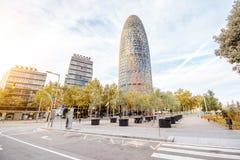 Vue de ville de Barcelone photo stock