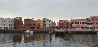 Vue de ville de Chioggia en Italie photographie stock