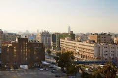 Vue de ville d'Amman pendant le matin, Jordanie Image stock