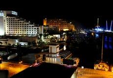 Vue de ville d'Eilat Photographie stock libre de droits