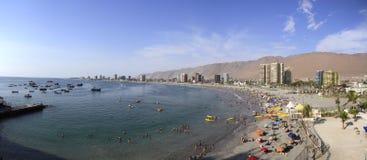 Vue de ville d'Iquique, Chili Image libre de droits