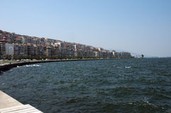 Vue de ville d'Izmir Photo stock