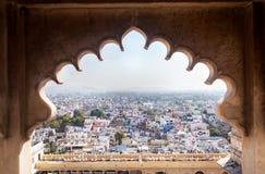 Vue de ville d'Udaipur Image stock