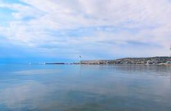 Vue de ville de Bakou Photos stock