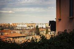 Vue de ville de Bologna Photographie stock