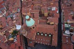 Vue de ville de Bologna, Italie Photos libres de droits