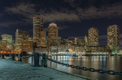 Vue de ville de Boston, le Massachusetts, Etats-Unis Images stock