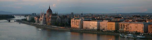 Vue de ville de Budapest Image libre de droits
