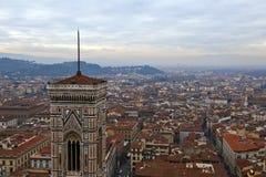 Vue de ville de Florence Image libre de droits